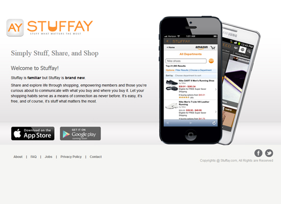 Stuffay Mobile App